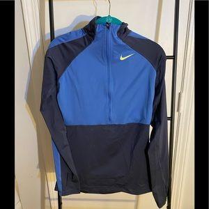 Nike pro hyperwarm half zip
